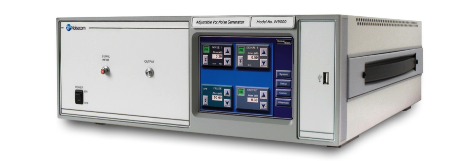 JV8 Series: Adjustable Vcc Noise Generator for PSRR Analysis